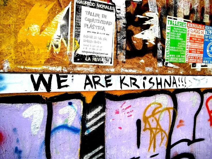 We are krishna - Santiago de Chile