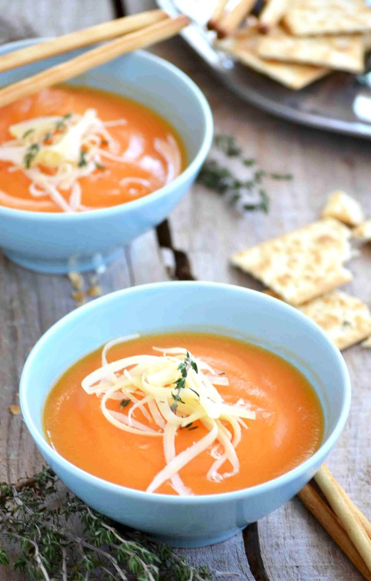 Cream of Carrot Soup...Food Recipes, Carrots Soup, Spanish Food, Month Food, Soup Stew Chilis, Food Bloggers, Vegetables Stockings, Breads, Cream