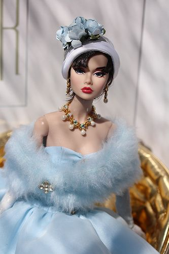 Most Sophisticated Sabrina PoppyBeautiful Blue, Poppies Parker, Barbie Couture, Beautiful Dolls, Fashion Dolls, Barbie Dolls, Barbie Fashion, Barbie Blue, Sophisticated Barbie