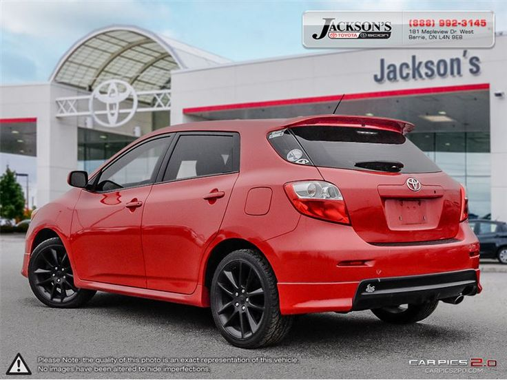 car 2009 toyota matrix 5 door xrs fwd 5m in barrie on. Black Bedroom Furniture Sets. Home Design Ideas