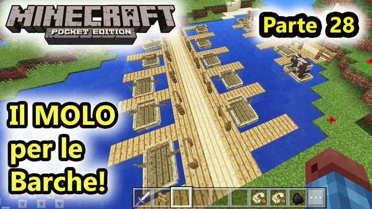 Minecraft PE - Il MOLO per le barche! - Android - (Salvo Pimpo's)