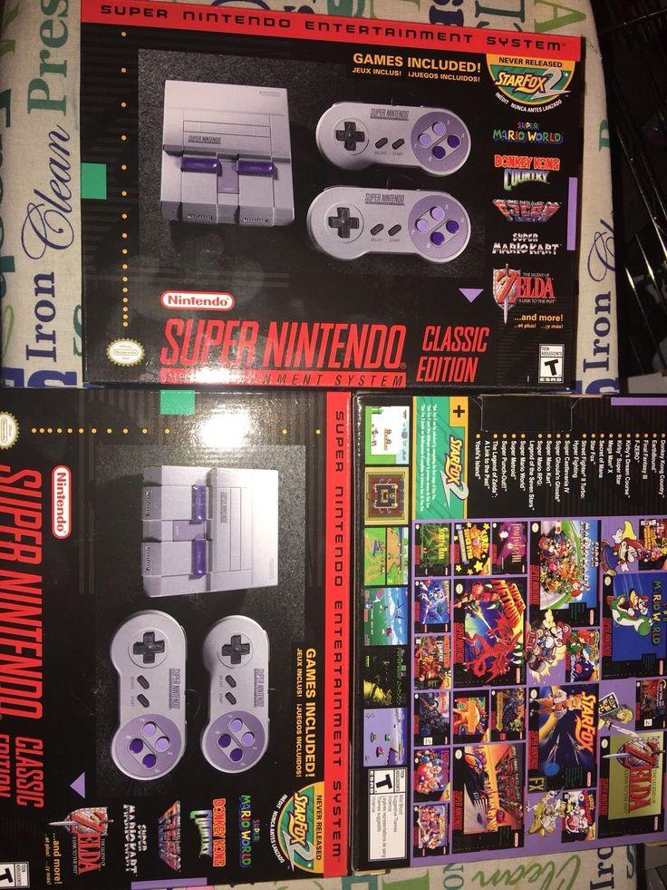 Super Nintendo Entertainment System Mini SNES Classic Edition SNES NINTENDO