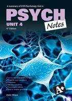 2013 - A+ VCE Study Guides  Psych Notes Unit 4