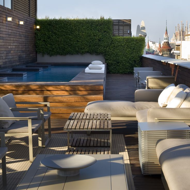 Hotel Omm |  Roof top terrace | Grupo Tragaluz |Barcelona   @Hotel Omm