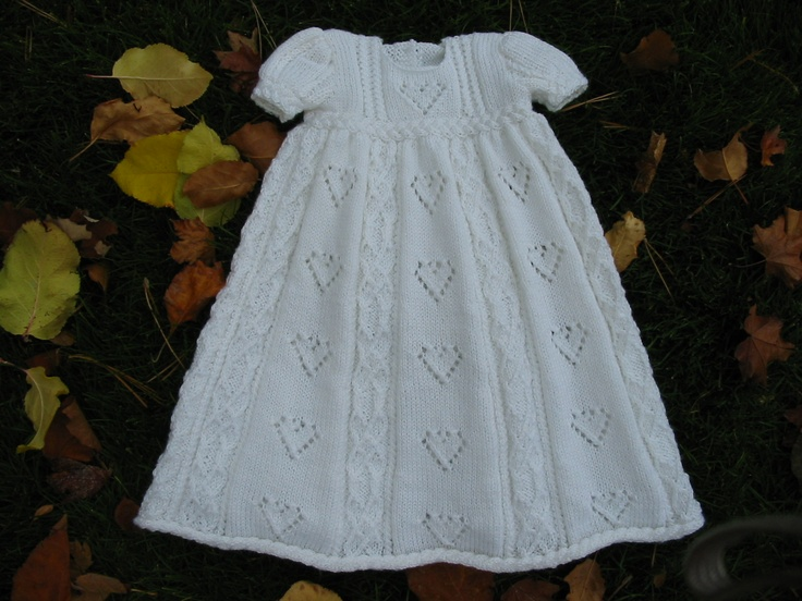 Hugs and Kisses Christening Gown -- from Elegant Ensembles to Knit 2