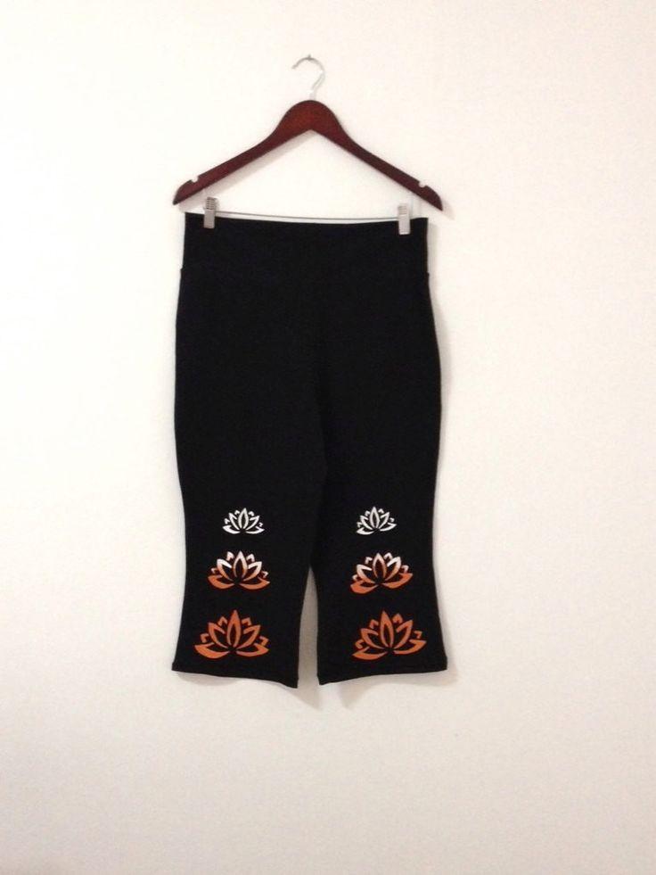 Black capri pants, Womens capris, Workout pants, Yoga pants, Yoga wear