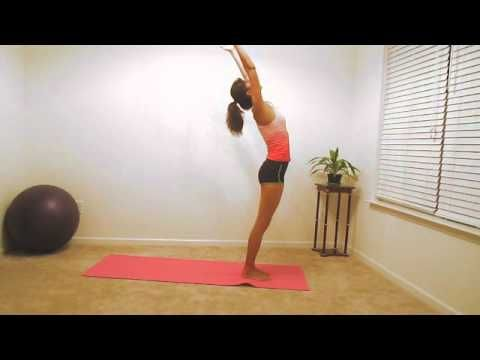 Yoga for Beginners - Sun Salutation A - YouTube