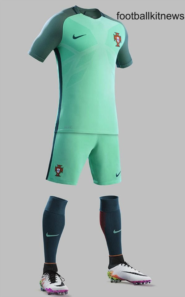 Need to get myself one of those shirts <3 Green Portugal Away Kit Euro 2016