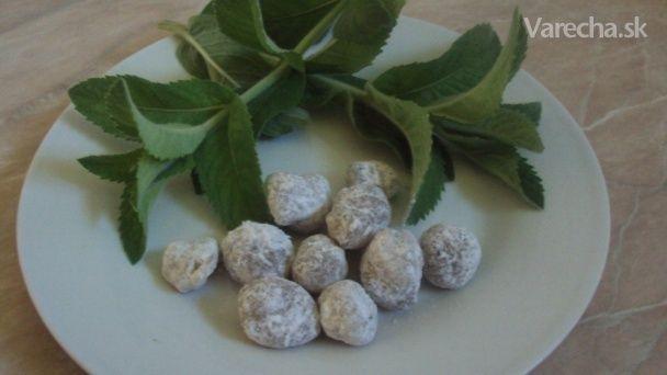 Cukríky z liečivých byliniek (fotorecept)