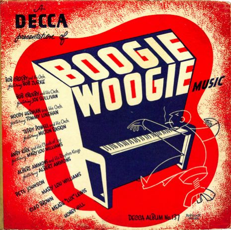 Boogie Woogie Music, record cover