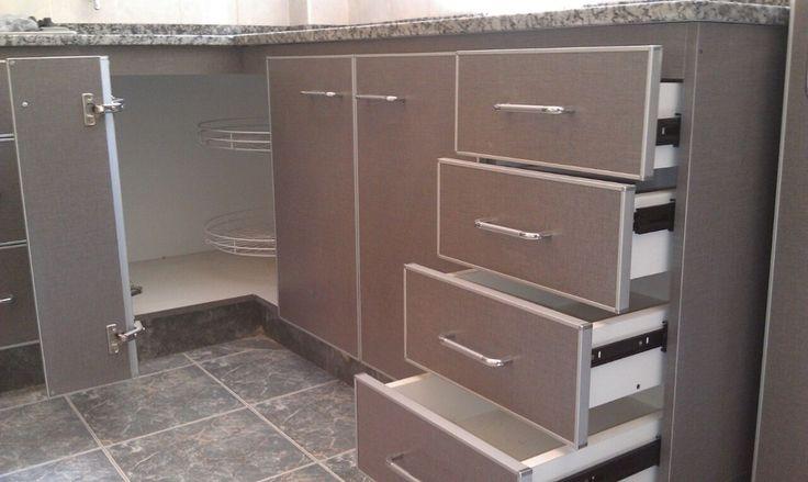 Severino muebles de cocina a medida bajo mesada alacena for Medidas muebles bajos cocina