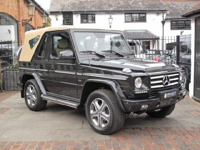 Mercedes G500 convertible for sale