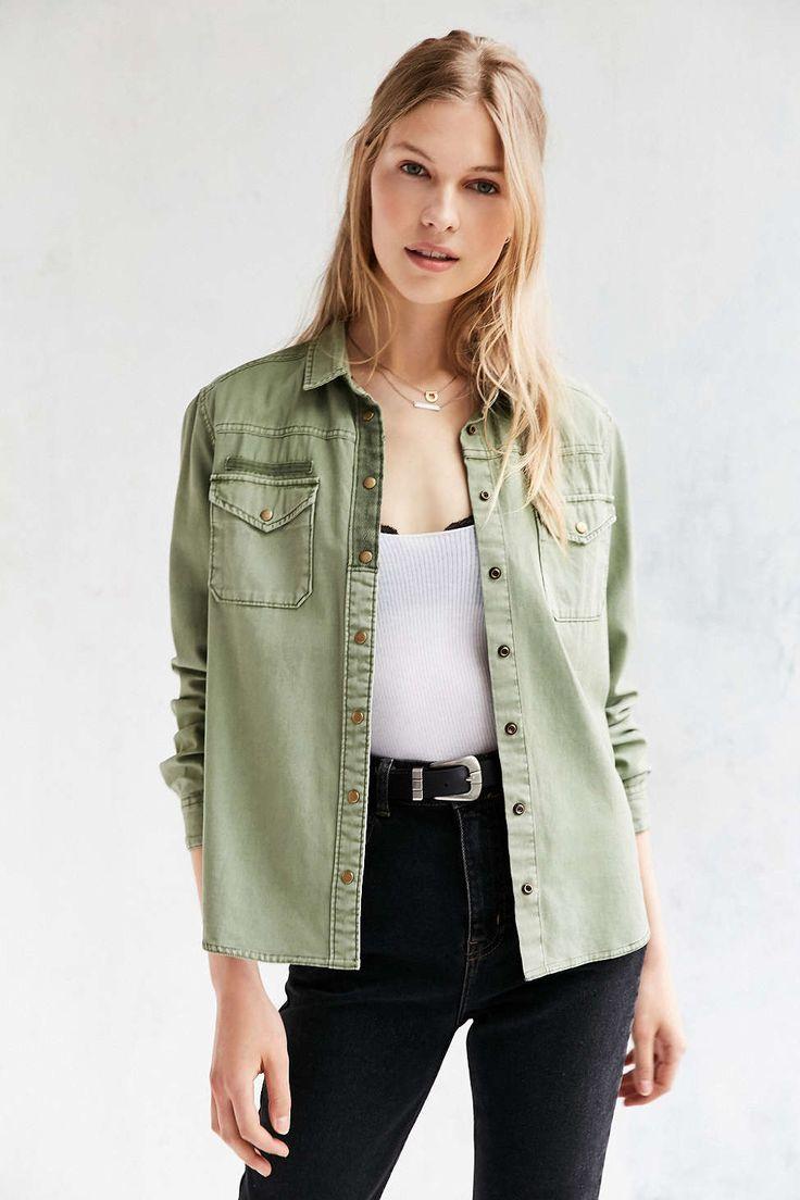 Chemise d'armée BDG - Urban Outfitters