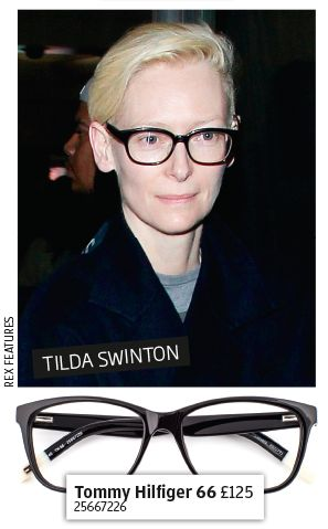 Get the celeb look - Tilda Swinton