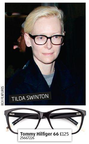 Get the celeb look - Tilda Swinton