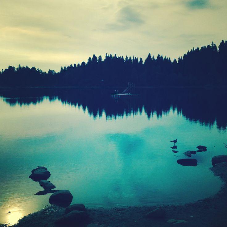 ❖ a quiet september morning..  / Lianvannet / Bymarka / Trondheim