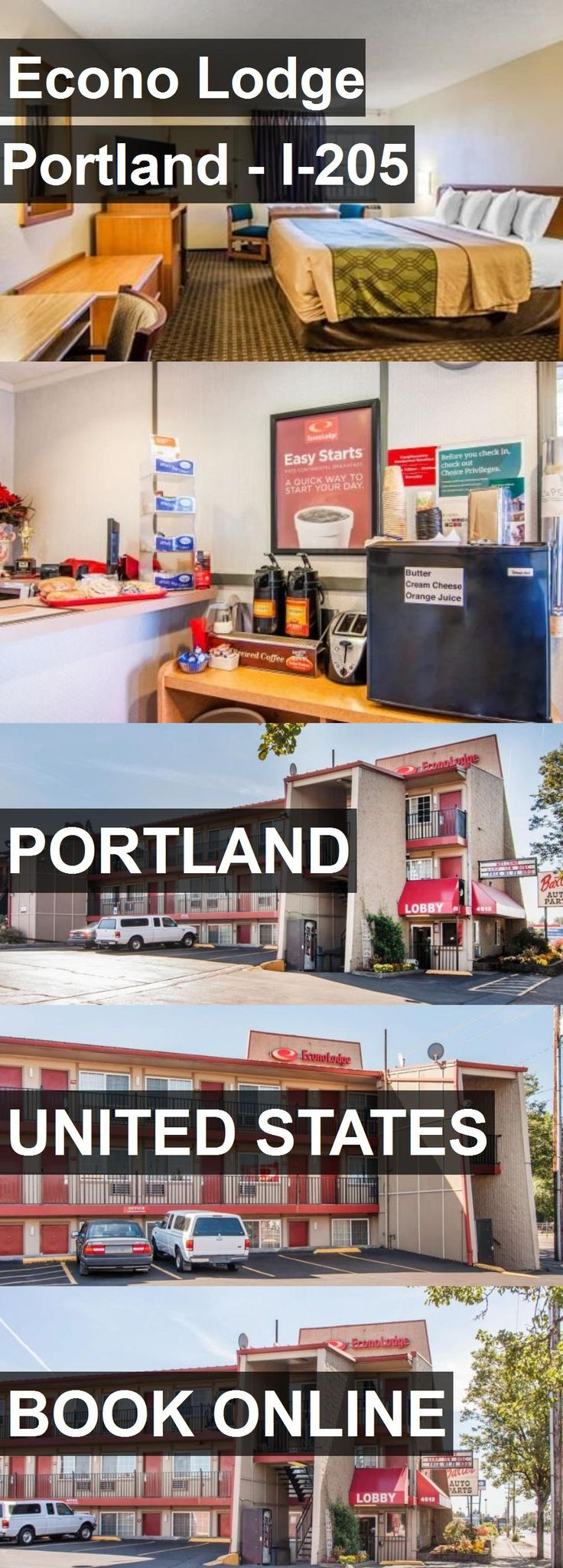 Hotel Econo Lodge Portland - I-205 in Portland, United States. For more information, photos, reviews and best prices please follow the link. #UnitedStates #Portland #travel #vacation #hotel