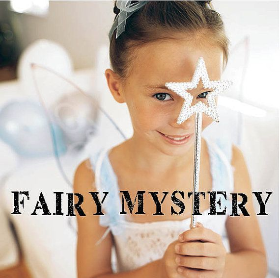 Fairy Mystery Game   kids Birthday Party game  by KidsMysteryGames