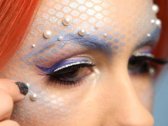 Halloween Mermaid Makeup for Adults