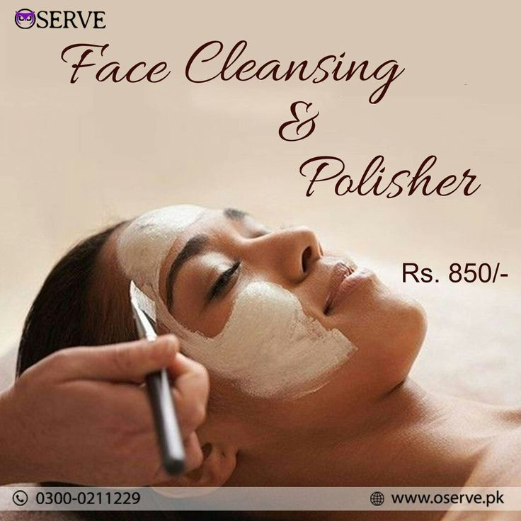 Use our facial service at home and give your skin some love
