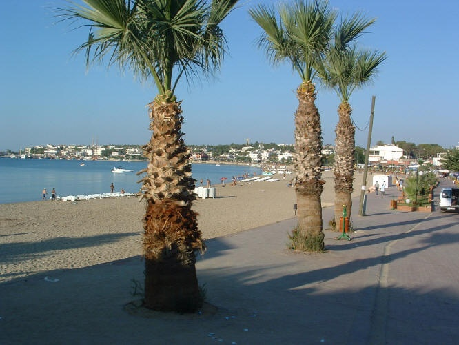 The Promenade, Altinkum, Turkey