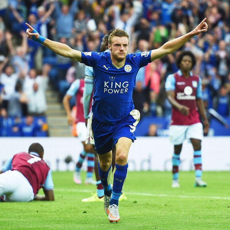 Jamie Vardy of Leicester City FC