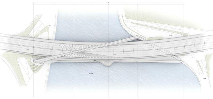 10 DESIGN and Buro Happold, Infinity Loop Bridge, Zhuhai, China.