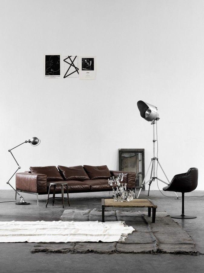 Flexform Lifesteel in nice interior. Simple as that #design