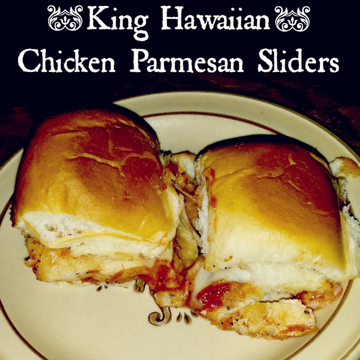 King Hawaiian Chicken Parmesan Sliders recipePlucky's Second Thought | Plucky's Second Thought
