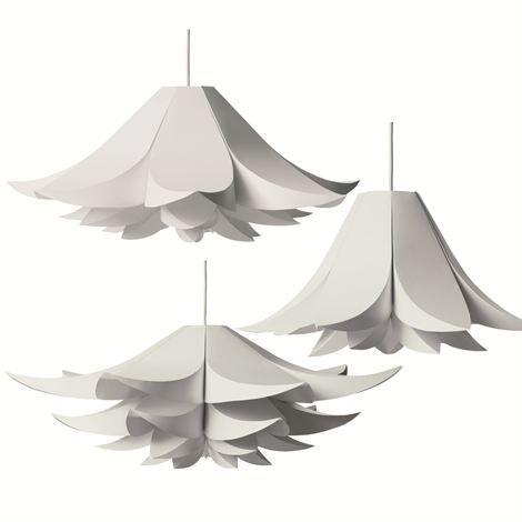 Flower Inspired Contemporary Lamp Shape Design Modern Lamp Shade Design minimalist appliances Lamp Shade