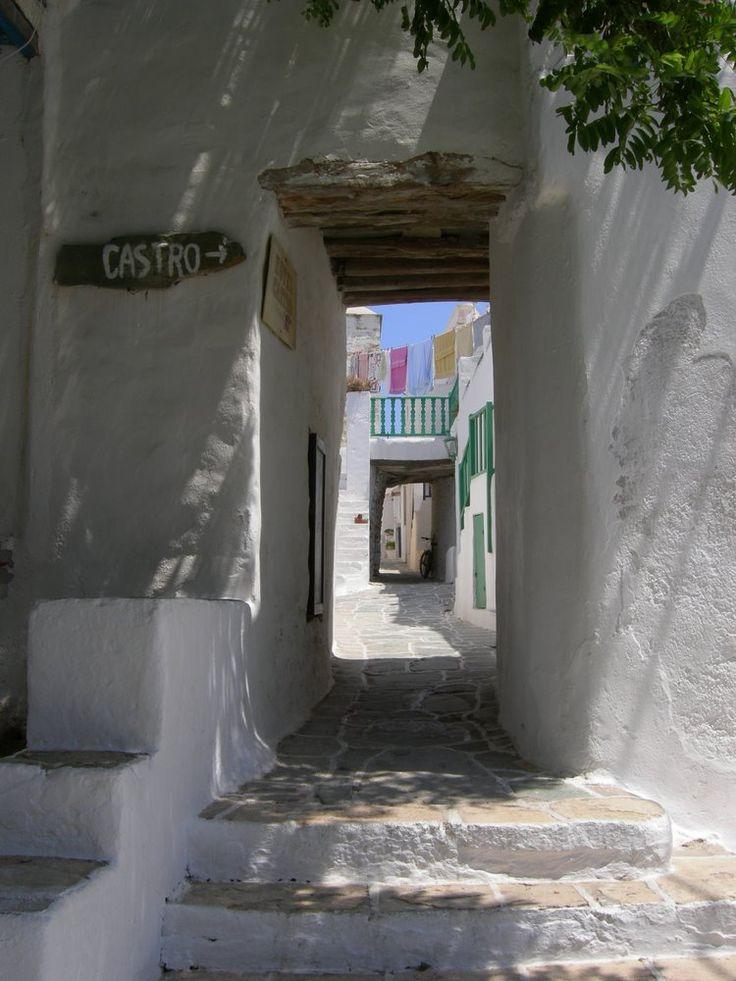 Castro, Folegandros, Cyclades, Greece