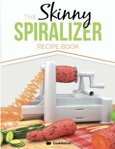 The Skinny Spiralizer Recipe Book: Delicious Spiralizer Inspired Low Calorie Recipes For One.  All Under 200, 300, 400 & 500 Calories by CookNation http://www.amazon.co.uk/dp/1909855707/ref=cm_sw_r_pi_dp_c.K6ub11GNCX6