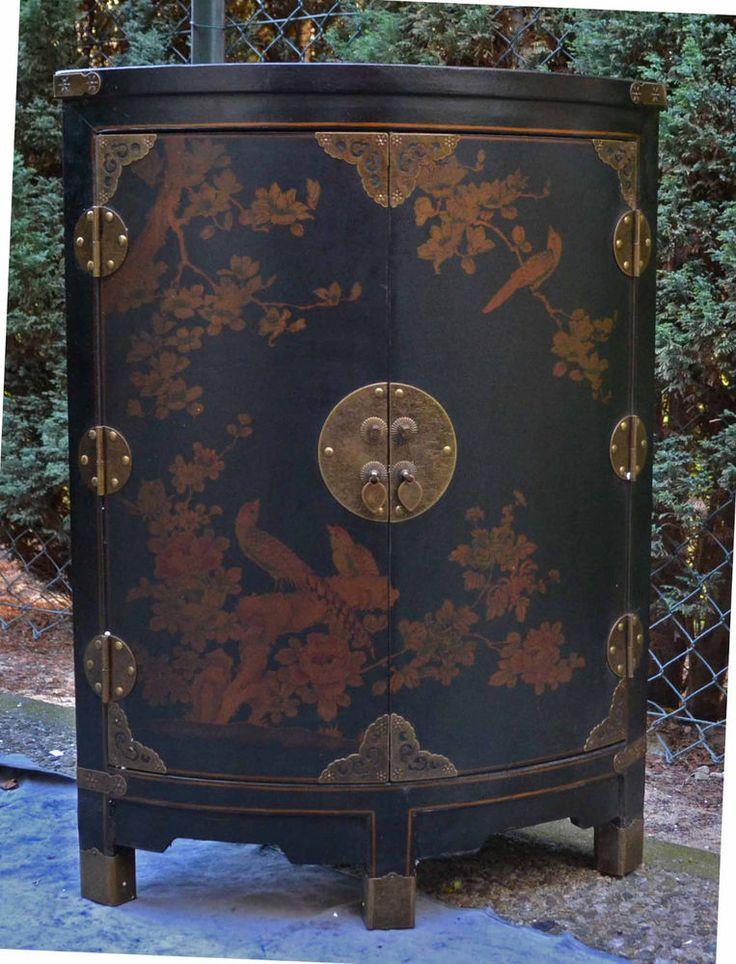 Fancy Schrank Eckschrank massivholz antik chinesische m bel schrank Hochzeitsschrank