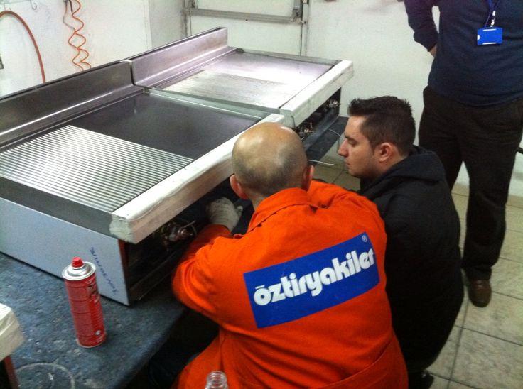 Training in Ozti premises in Turkey.