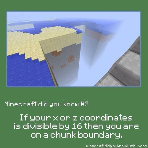 Minecraft did you know #3