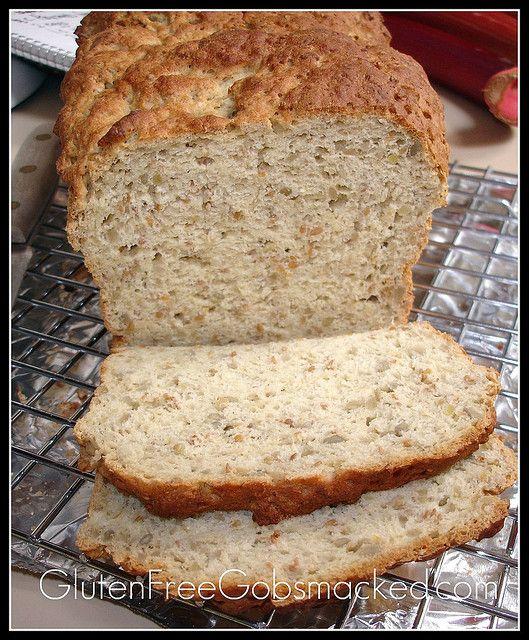 Gluten Free Sunflower & Millet Bread by Kate Chan, via Flickr.  Gluten free bread