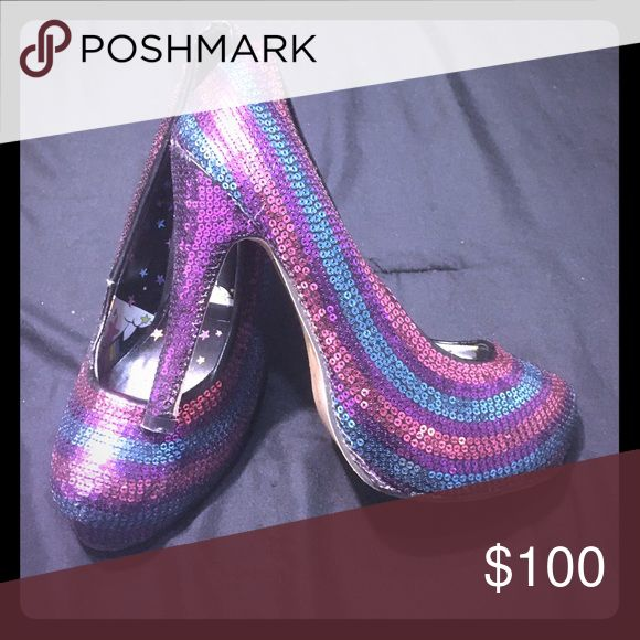 Pumps Sequins pumps-worn twice- perfect condition Shoes Heels
