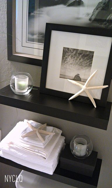 ::: FOCAL POINT :::: RENTAL RESTYLE: Small Bath Space Decor + Awkward Window Challenge