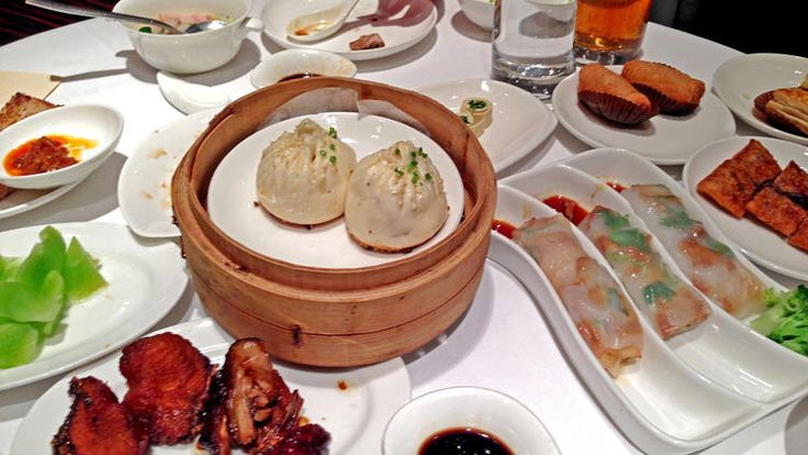 A bounty of dim sum at Lynn, a restaurant in the French Concession in Shanghai. Scott Kraft/Los Angeles Times