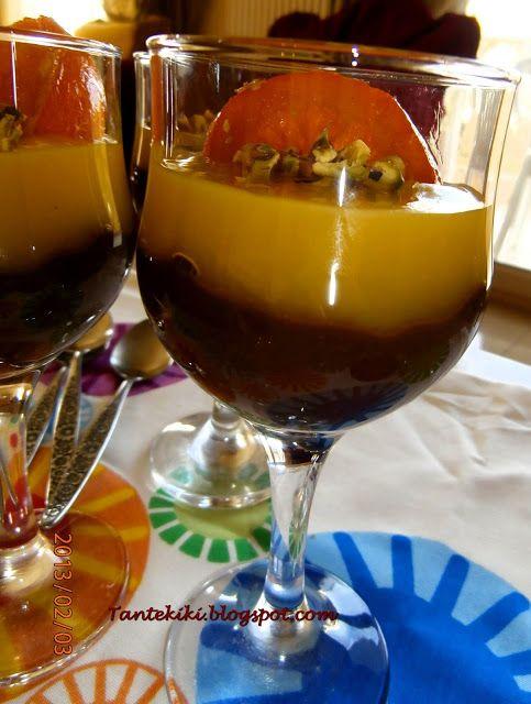 Κρεμα Σοκολατα - Πορτοκαλι.