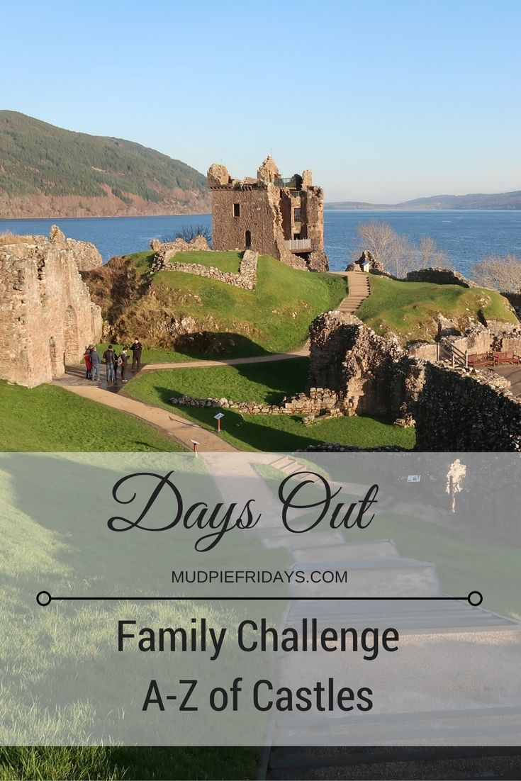 Our new family challenge visiting 26 castles one for every letter of the alphabet in the UK. Our A - Z of Castles in the UK - mudpiefridays.com