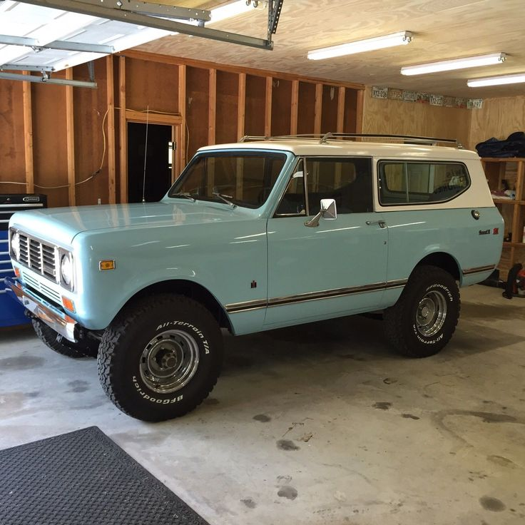 1976 International Harvester Scout II : 4x4