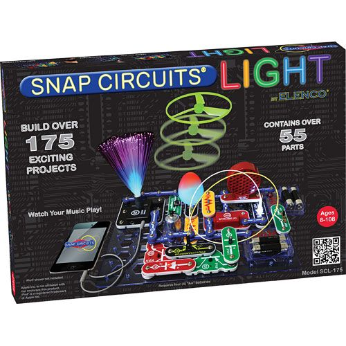 Best gifts for 8-year-old boy - Snap Circuits Light | Cool Mom Picks