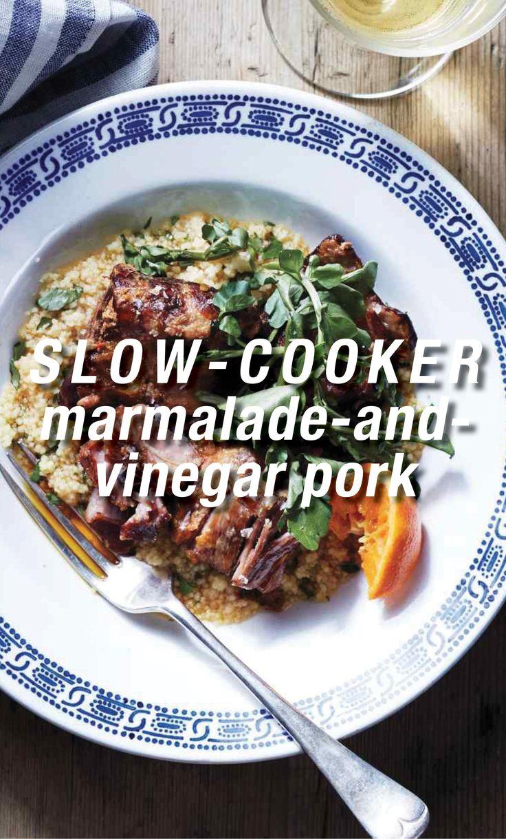 Slow-Cooker Marmalade-and-Vinegar Pork | Martha Stewart ...