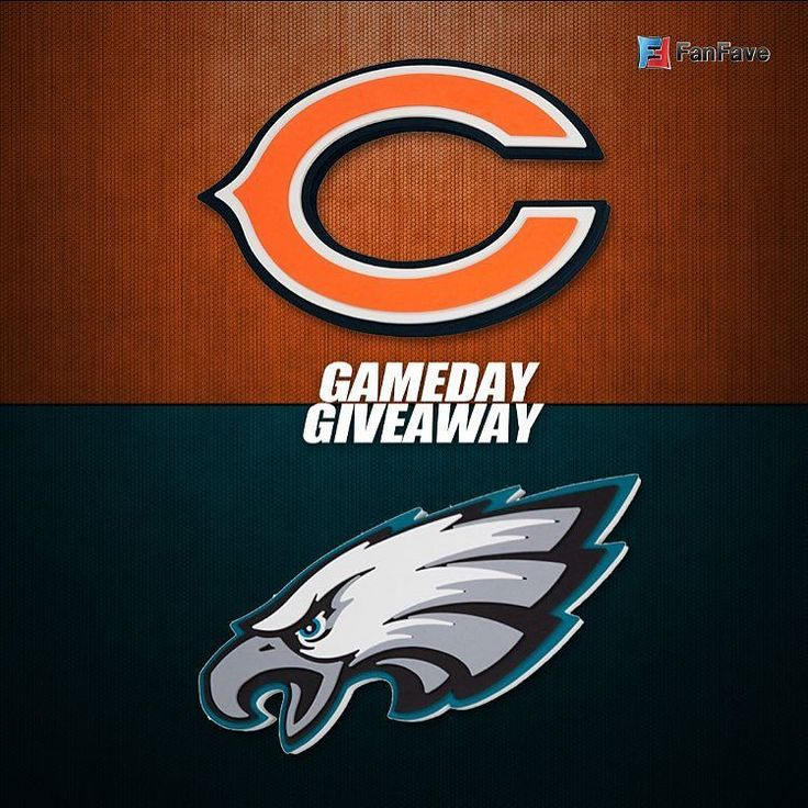 Monday night football is back... and so are we with another giveaway! To be entered in the giveway just comment who you think will win the game tonight!  #mnf #giveaway #fanfave #eagles #bears #defense #offense #nfl #football #chicago #philly