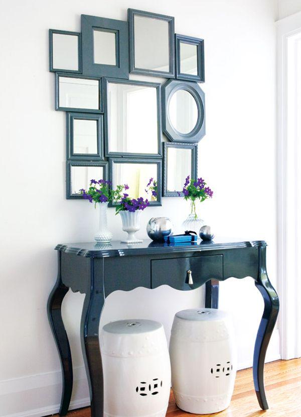 С восторгом в зеркало глядясь: необычное оформление зеркальных поверхностей в интерьере