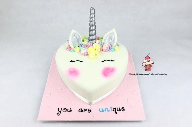 Unicorn Cake - Cake by Maria's