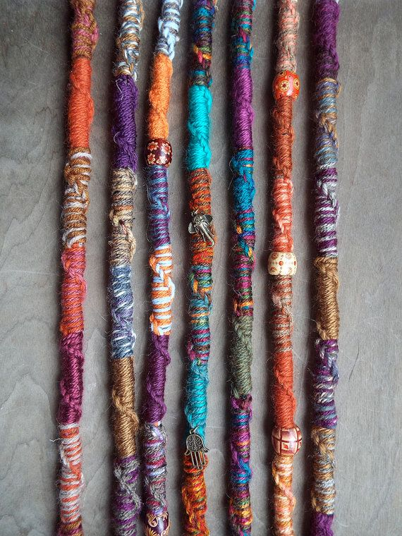 1 Jumbo Twisted Bohemian hair wrap extension with charms Choose your wrap colors and charms! *see below for options **Photos are for reference only. Listing is for ONE extension ONLY. Extension colors may vary slightly** *PRODUCTION TIME* This item is made to order. Production time is usually 2-4 weeks. Please allow for the full 4 weeks. The current production time can also be found under the shipping tab of the listing and our shop announcement. Expedited production & shipping options ...