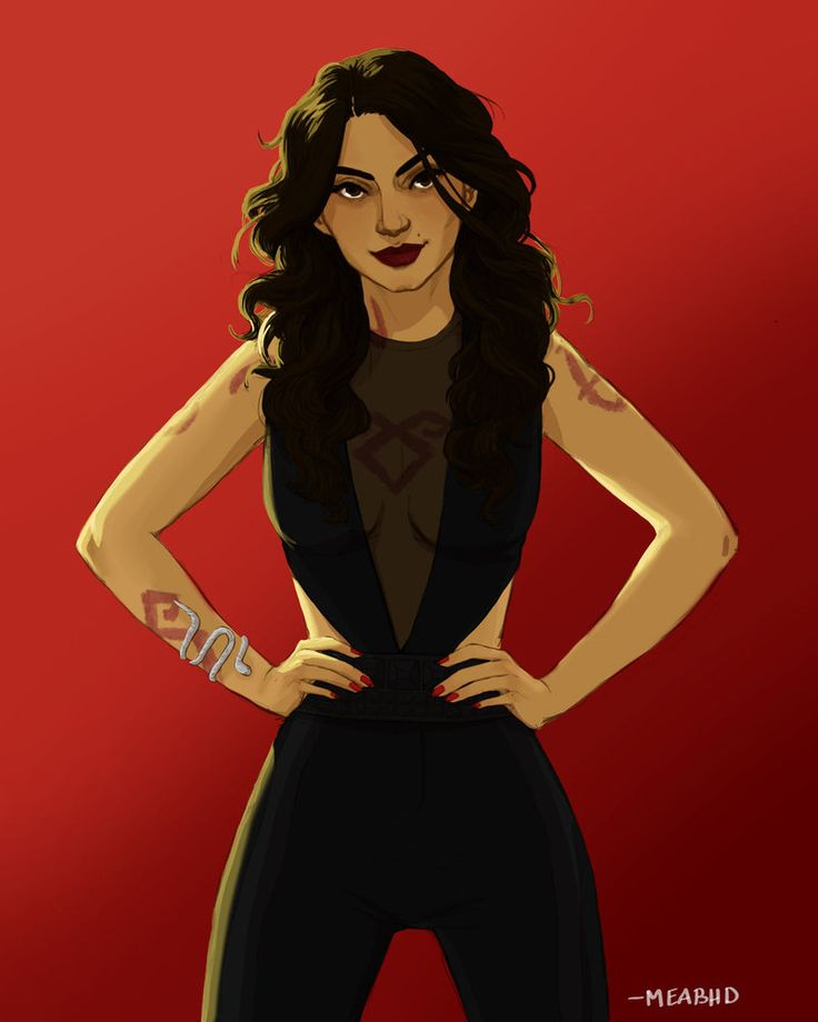 Isabelle is always a lot of fun to draw. I don't know what it is Isabelle Lightwood - Cassandra Clare - the Mortal instruments ~Used wacom bamboo tablet and paint tool sai