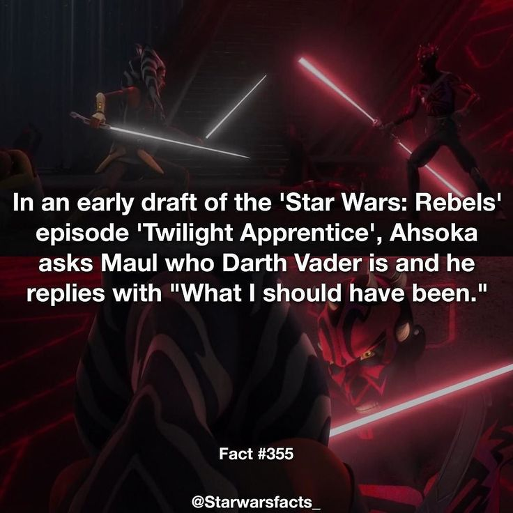 Do you like me doing facts on this show? #starwarsfacts by starwarsfacts_